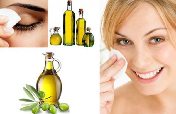 Tác dụng của dầu oliu trong việc tẩy trang - công dụng dầu oliu