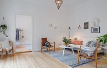Với phong cách Scandinavia căn hộ 55m2 trở lên đẹp lung linh
