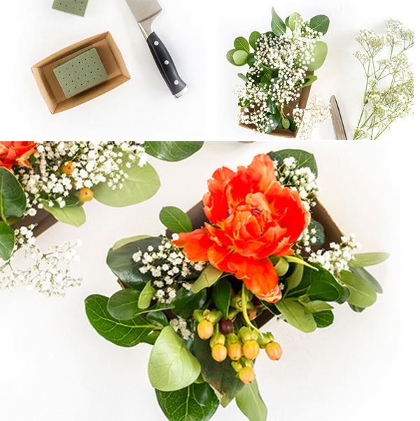 Cách cắm hoa để bàn đơn giản mà đẹp và sang trọng - cach cam hoa de ban