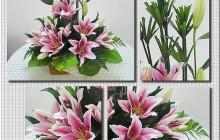 Cách cắm hoa ly để bàn ngày tết đẹp mà tươi lâu