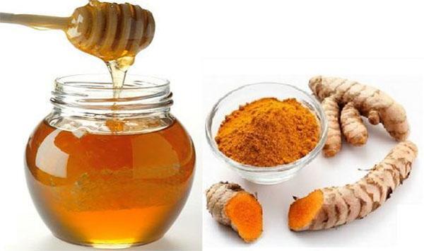 Chữa nhiệt miệng từ mật ong và nghệ - cách chữa nhiệt miệng nhanh nhất