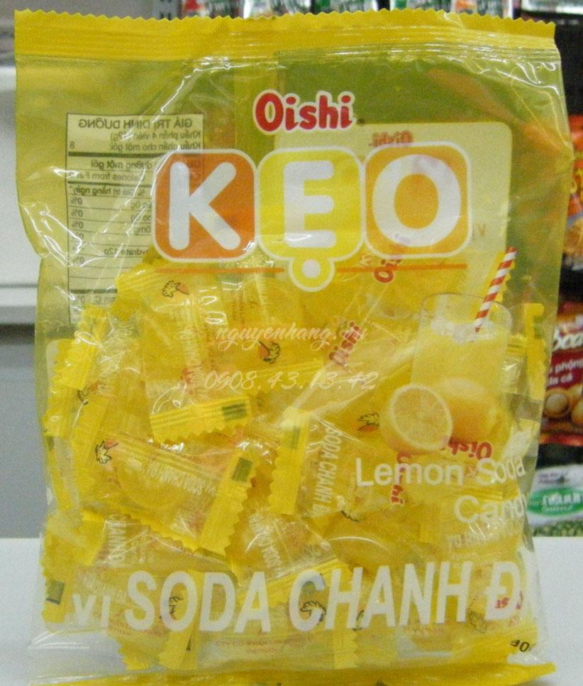 Chuẩn bị kẹo oishi để làm quả dứa - cách làm quả dứa bằng kẹo osi