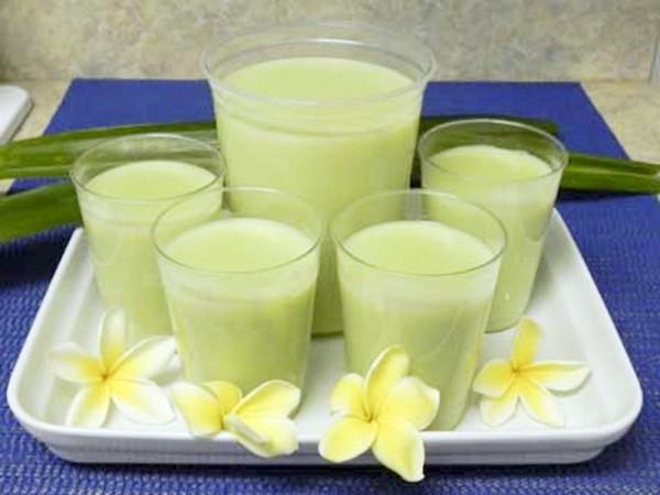 Cách làm sữa đậu xanh ngọt thơm dễ uống cho cả nhà - Cach lam sua dau xanh