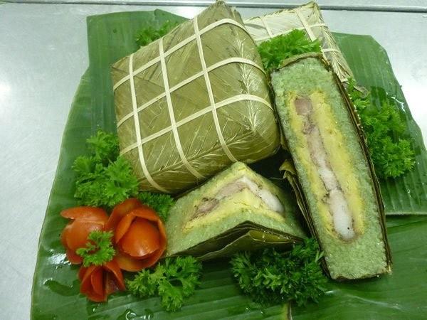 Bánh chưng là loại thực phẩm chứa nhiều calo - giảm béo bụng dưới