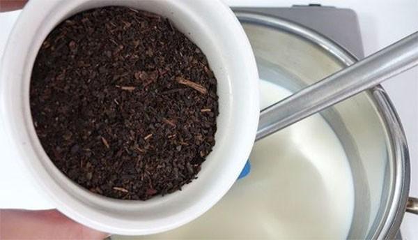 Trà thái và sữa - cách làm kem trà thái