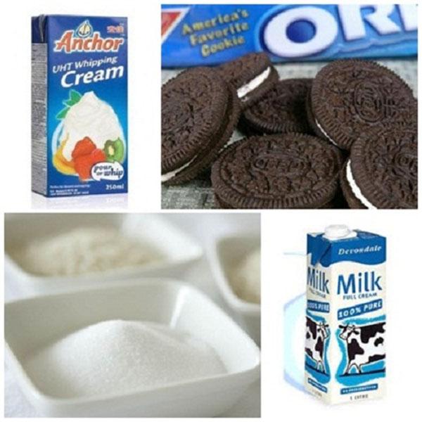 Nguyên liệu làm kem cuộn thái lan - cách làm kem cuộn tại nhà