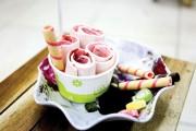 Cách làm kem cuộn Thái Lan và kem Trà Thái cực ngon