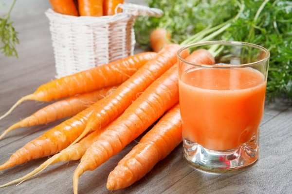 Sinh tố cà rốt là thứ nước uống vừa ngon vừa lành
