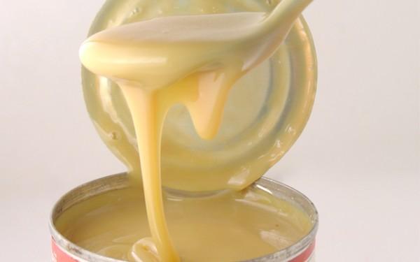 Sữa đặc - sinh tố xoài