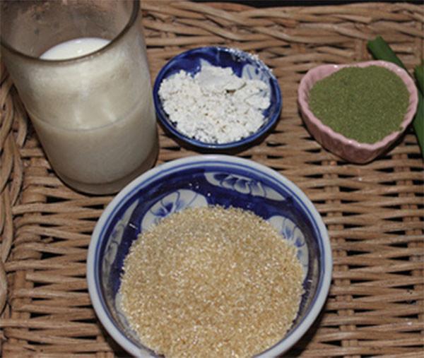 Nguyên liệu làm thạch găng - cách làm thạch găng bằng bột