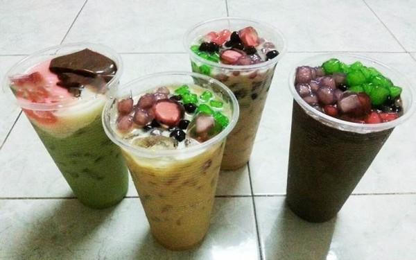 Thạch hoa quả trà sữa - cách làm thạch trái cây uống trà sữa