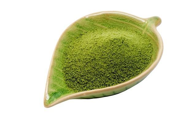 Bột trà xanh - cách làm thạch phô mai trà xanh