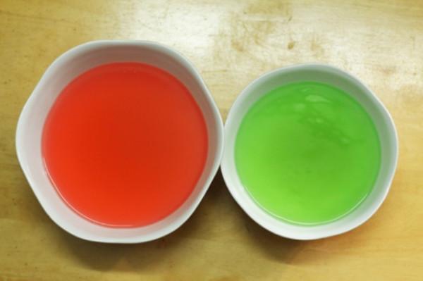 Làm thạch màu - làm thạch sữa chua