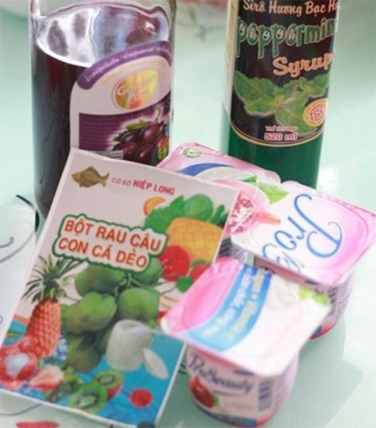 Nguyên liệu làm thạch sữa chua - cách làm thạch sữa chua