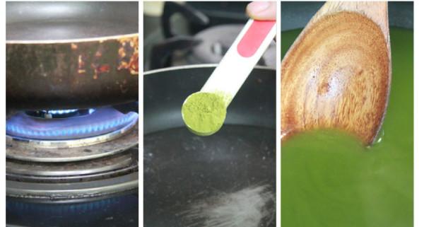 Làm phần thạch trà xanh - thạch trà xanh