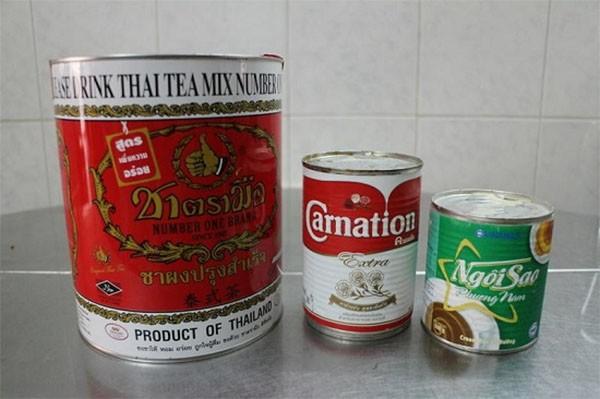 Nguyên liệu làm trà sữa - cach lam tran chau