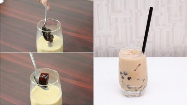 Thưởng thức trà sữa trân châu - cách làm trà sữa trân châu
