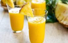 Sinh tố dứa sữa chua dễ làm cho da sáng dáng đẹp