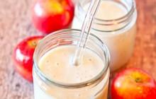 Sinh tố táo ngọt thơm cho cả nhà đều thích