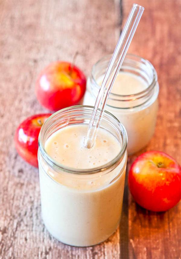 Sinh tố táo ngọt thơm cho cả nhà đều thích - cách làm sinh tố táo