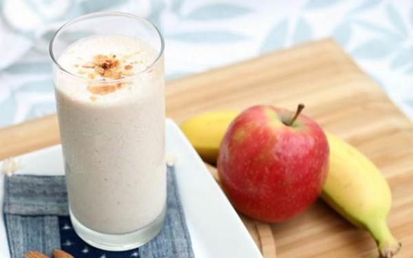 Sinh tố táo và chuối - cách làm sinh tố táo