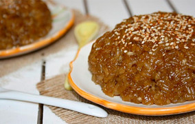 Cách nấu chè kho bằng gạo nếp ngọt mà không khé