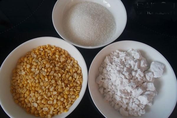 Những nguyên liệu cần có để nấu chè sắn - cách nấu chè sắn dây