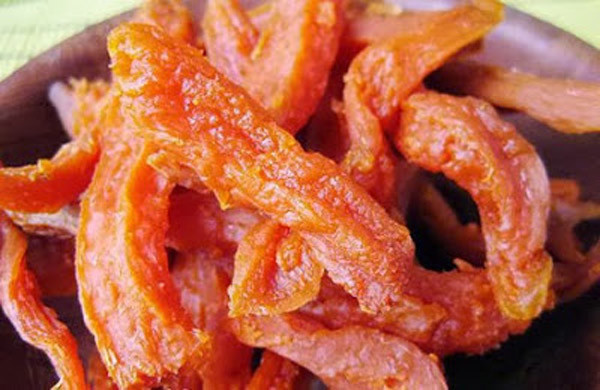 Khoai lang sấy dẻo - cách làm khoai lang sấy không cần lò nướng