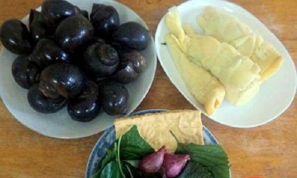 Cách làm ốc xào măng chua cay đặc trưng xứ Thanh - oc xao mang