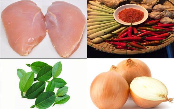 Những nguyên liệu chính để làm khô gà - cách làm khô gà xé cay