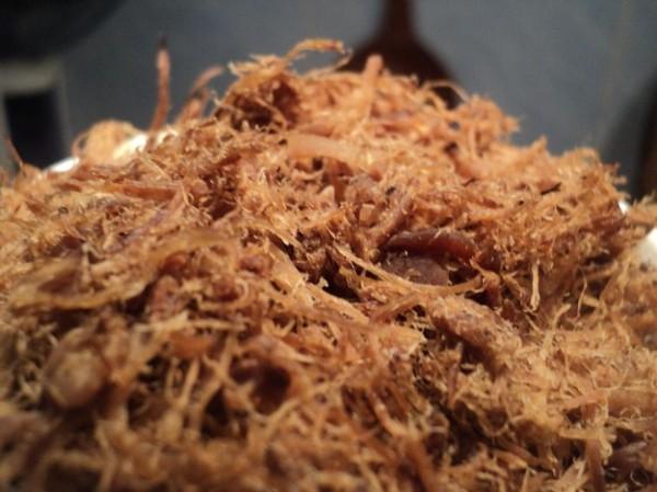 Ruốc nấm - cách làm ruốc nấm