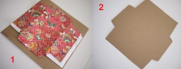 Tạo khung bao lì xì bằng mẫu có sẵn - cách làm bao lì xì ngày tết