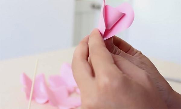 Ghép hoa - cách làm hoa bằng giấy đơn giản