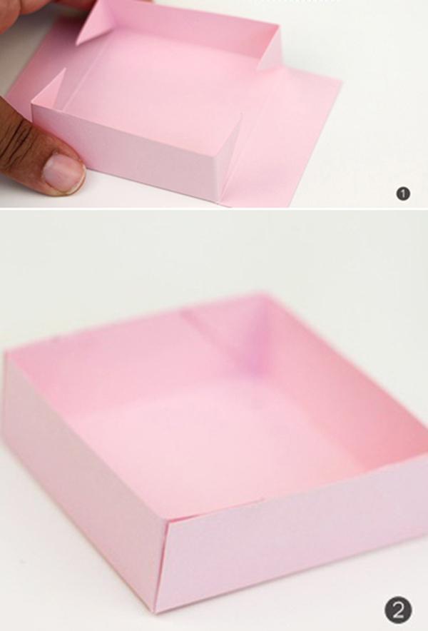 Tạo khung vuông (chữ nhật) - hộp quà đẹp