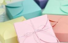 Cách làm hộp quà handmade bằng giấy bìa đơn giản