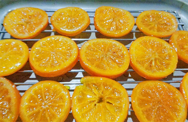 Làm khô mứt - cách làm mứt cam