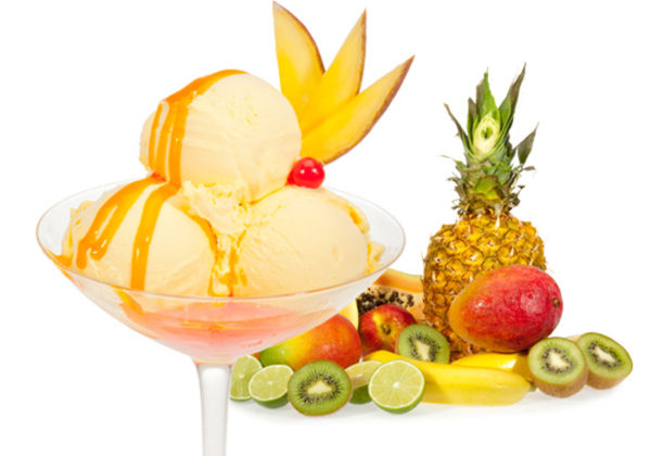 Kem trái cây - cách làm kem tươi tại nhà