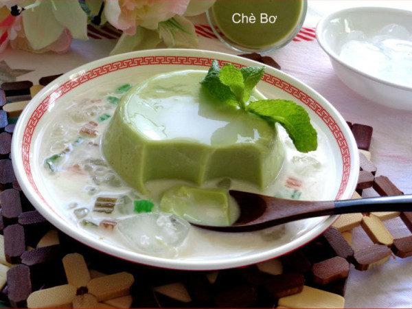 Chè bơ - các món chè ngon dễ nấu