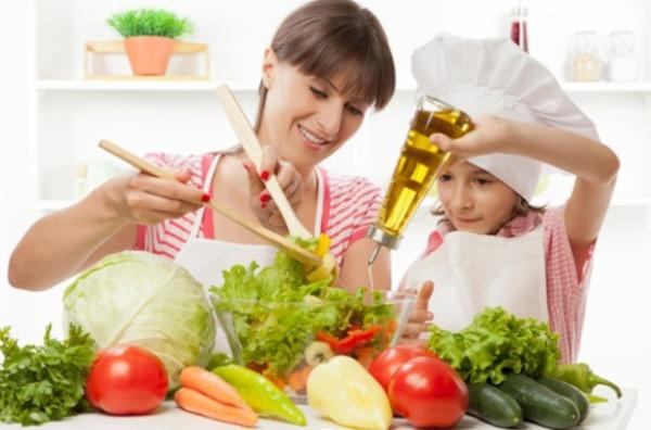 Quan niệm cho trẻ ăn ít dầu mỡ