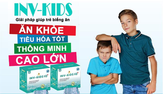 INV-KIDS dành cho bé chậm tăng cân
