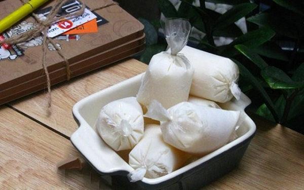 Sữa chua túi - cach lam sua chua