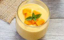 Cách làm sữa chua xoài ngọt thanh mát lịm ngày hè