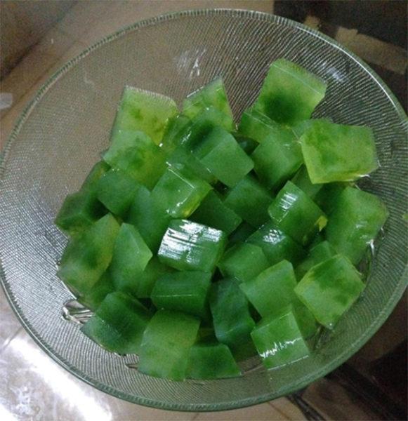 Thạch rau câu - làm sữa dừa