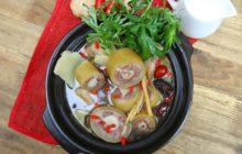 Cách nấu lẩu đuôi bò thuốc bắc ngon bổ dưỡng