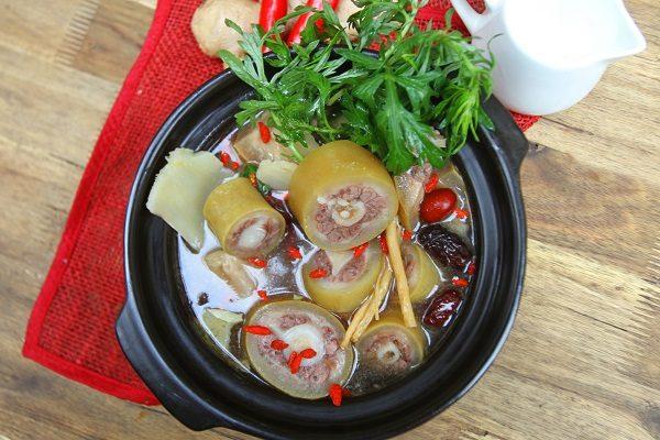 Lẩu đuôi bò thơm ngon bổ dưỡng - cach nau lau duoi bo