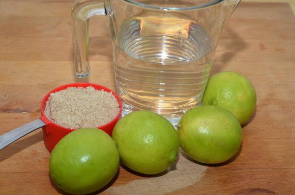Nguyên liệu chính pha nước chanh - pha nước chanh