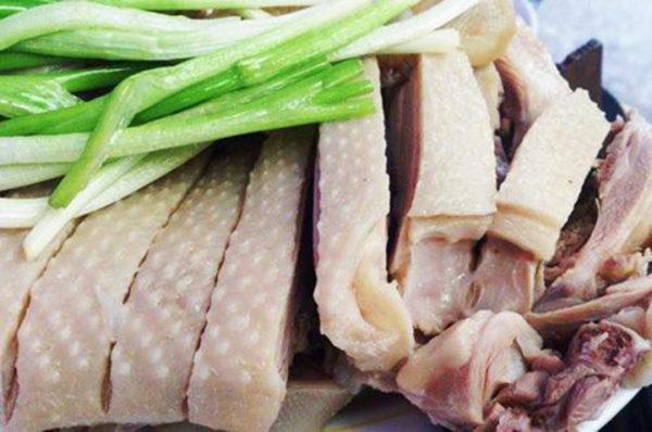 Thịt vịt luộc - cach luoc vit ngon