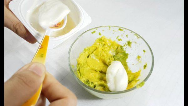 Cách đắp mặt nạ bơ sữa chua