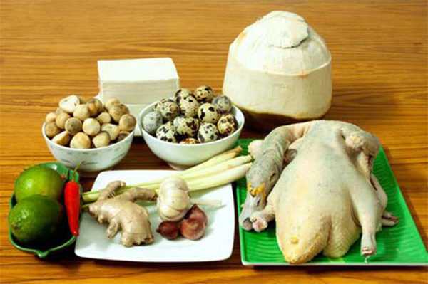 Nguyên liệu chính nấu món lẩu vịt - cách nấu lẩu vịt om sấu