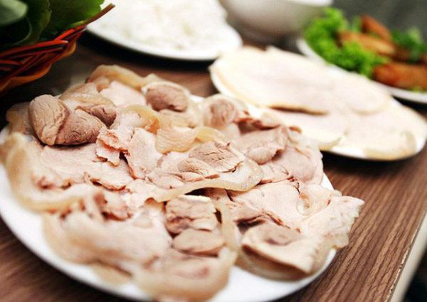 Cách luộc thịt heo ngon không bị khô